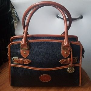 Dooney & Bourke authentic vintage leather handbag